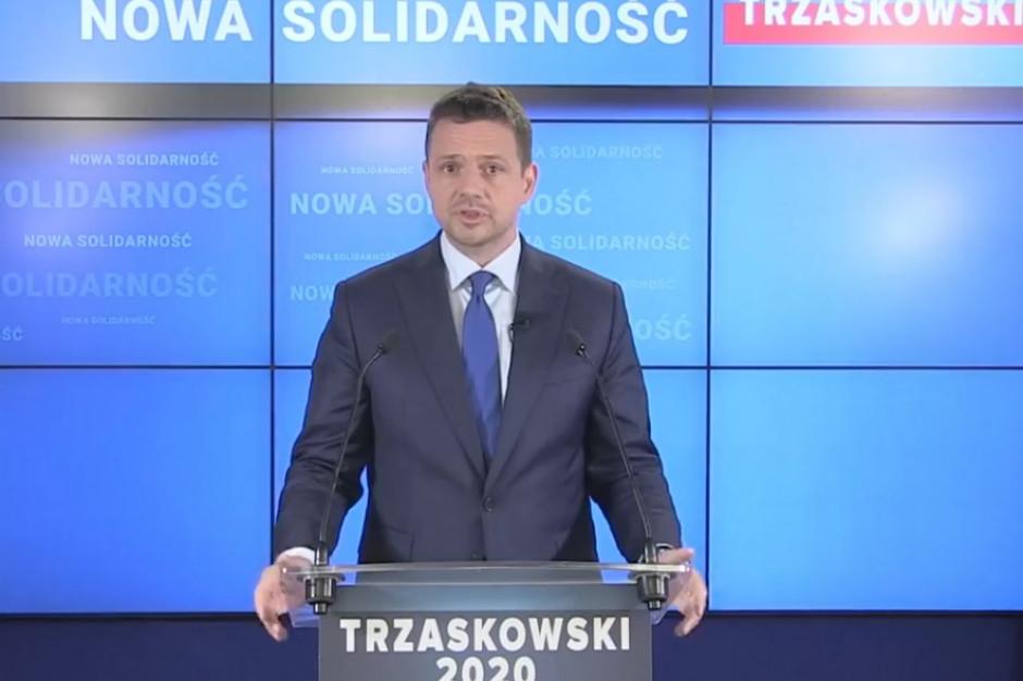 Trzaskowski apeluje do rządu: Zawiesić trzy najbardziej kontrowersyjne inwestycje