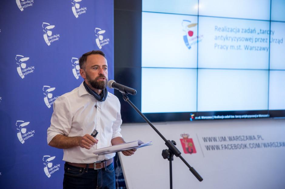 Atak na warszawski Urząd Pracy ma podłoże polityczne – komentuje wiceprezydent Michał Olszewski