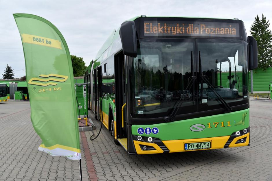 Poznań kupi kolejne autobusy elektryczne