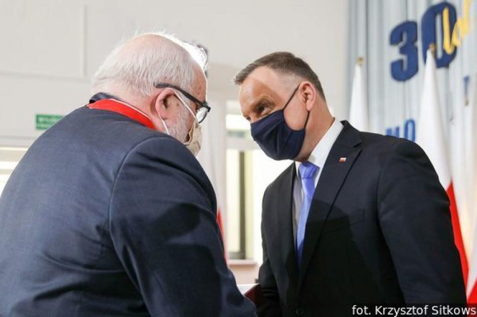 Andrzej Porawski uhonorowany Krzyżem Komandorskim Orderu Odrodzenia Polski