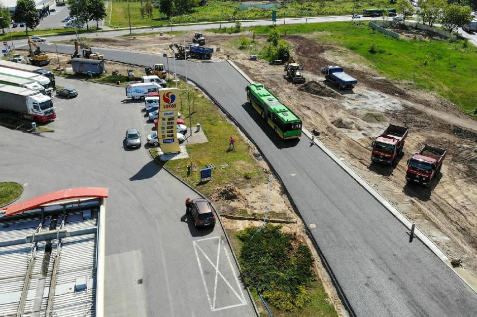 Poznań: Rusza budowa trasy tramwajowej na Naramowice. Zmiany w organizacji ruchu