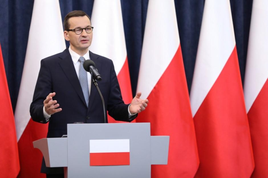 Premier: Polska znajduje się na dobrej drodze do zwalczenia epidemii