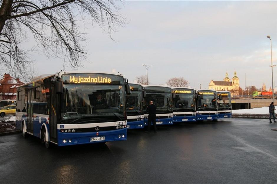 Kraków kupił trzy małe autobusy Autosan