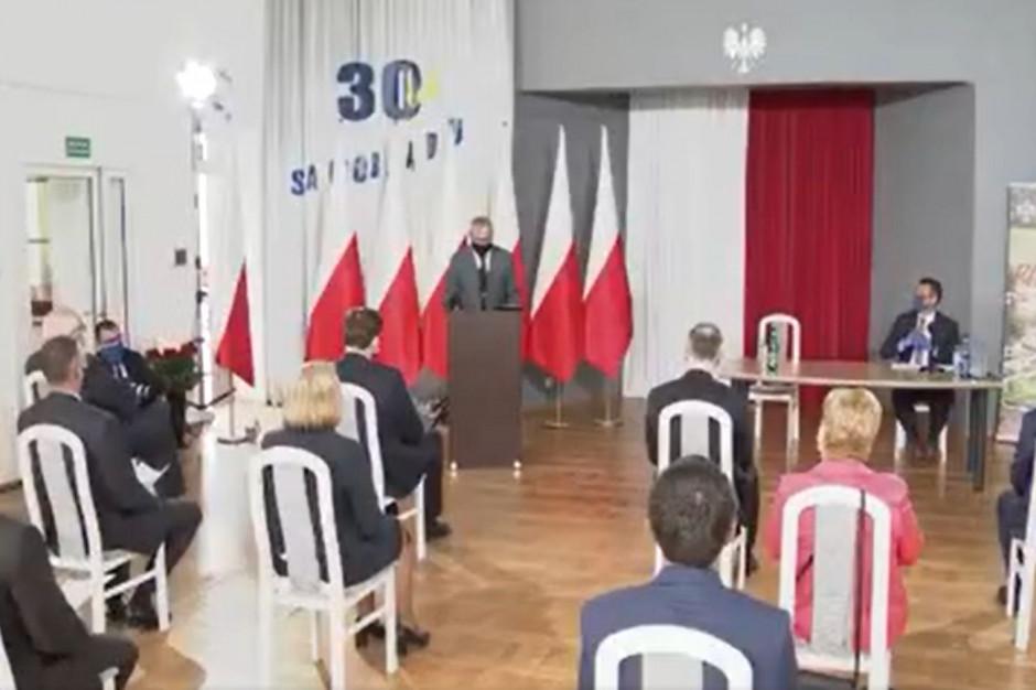 Samorządowcy otrzymali ordery i odznaczenia od Andrzeja Dudy