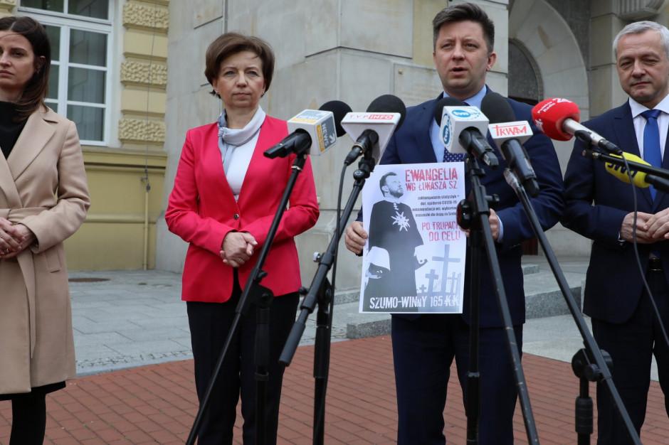 Warszawa przeciw mowie nienawiści. Plakaty dot. ministra zdrowia zostały zawieszone nielegalnie