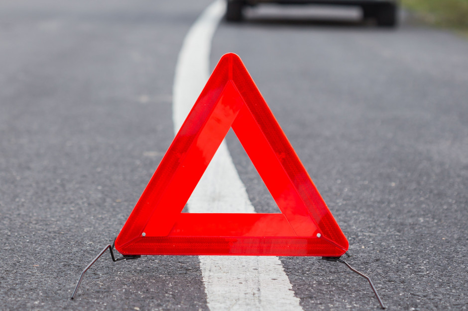 Wypadek na autostradzie. Prezydent Warszawy pomógł poszkodowanym