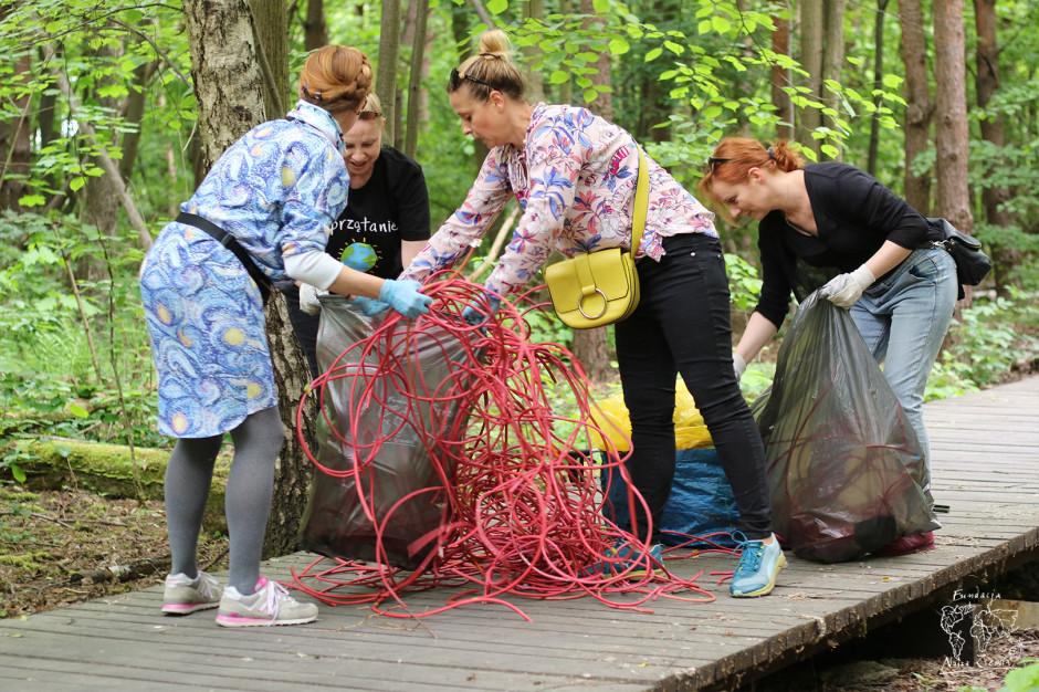 Ponad 770 kilogramów śmieci w 3 dni. Bez edukacji nie będzie lepiej