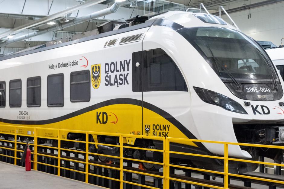 Koleje Dolnośląskie rozbudują bazę serwisowo-remontową w Legnicy