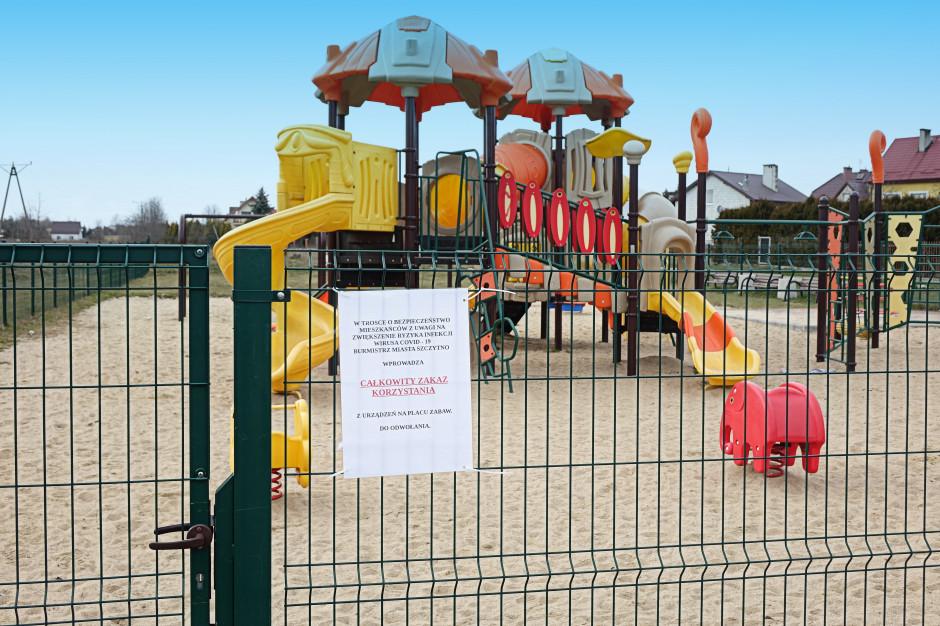 Place zabaw otwarte, ale wytycznych nie ma i nie będzie