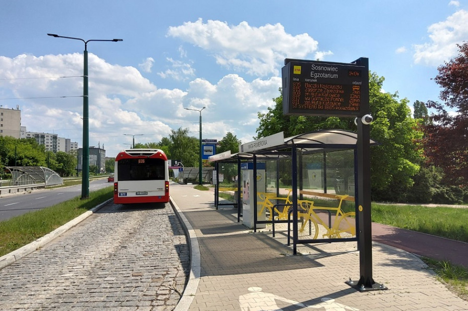 Śląskie: GZM zainstaluje kolejne tablice zmiennej treści na przystankach