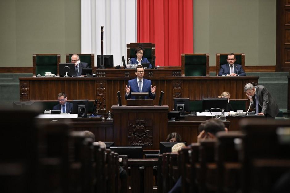 Morawiecki: Stawiamy na duże inwestycje infrastrukturalne