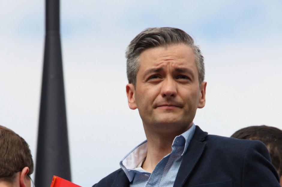 Robert Biedroń: inwestujmy w żłobki, szpitale, mieszkania i odnawialną energię