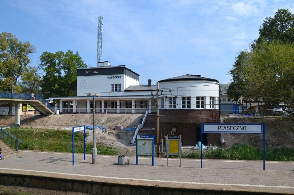 Z powodu podejrzenia koronawirusa zamknięto dworzec w Piasecznie