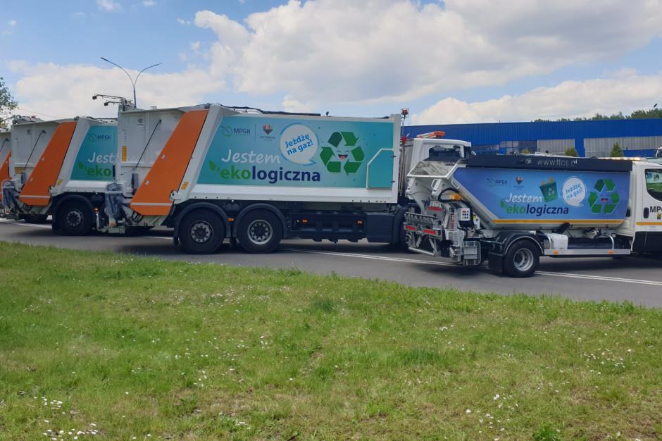 Nowe śmieciarki zasilane gazem ziemnym w Katowicach