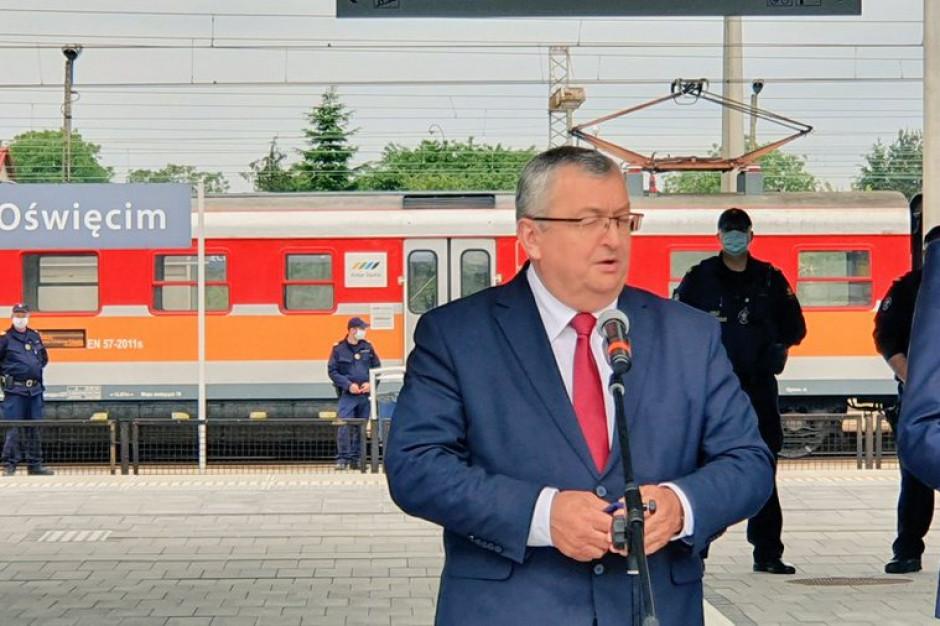 Oddano do użytku nowy dworzec kolejowy w Oświęcimiu