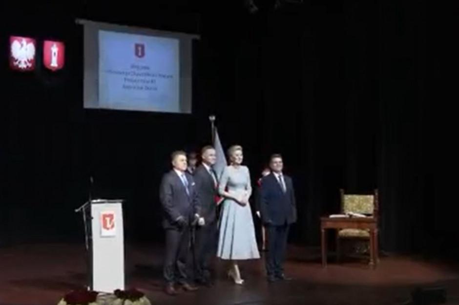 Prezydent Duda: w Wieluniu przekazywanie pamięci historycznej to naturalny element życia