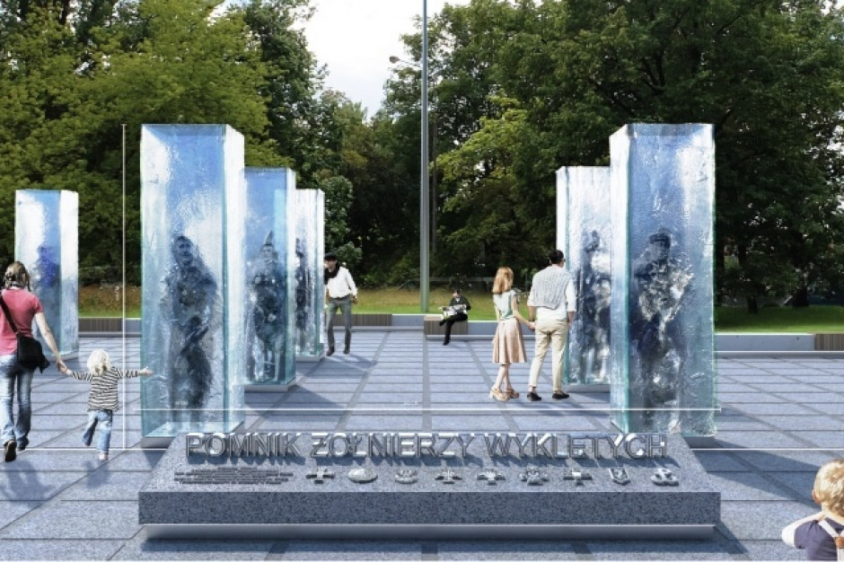 Miasto rozstrzygnęło konkurs na pomnik Żołnierzy Wyklętych
