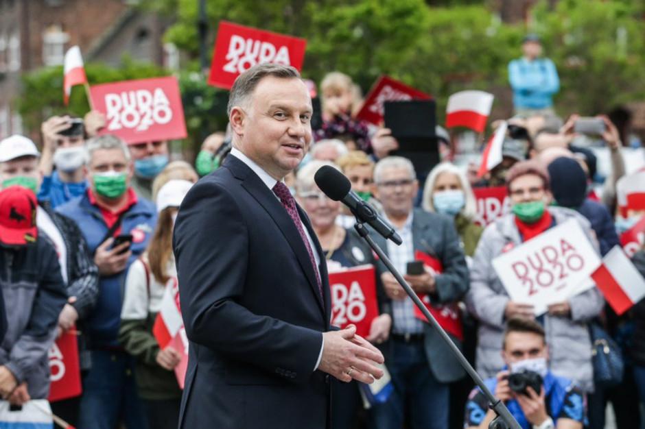 Prezydent: pandemia koronawirusa jest w Polsce pod kontrolą