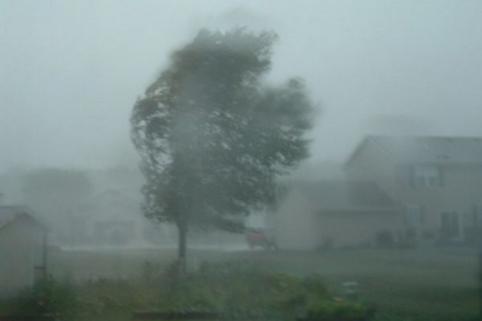 Burze i wiatr dały się we znaki. Ponad 900 zdarzeń w związku z usuwaniem ich skutków