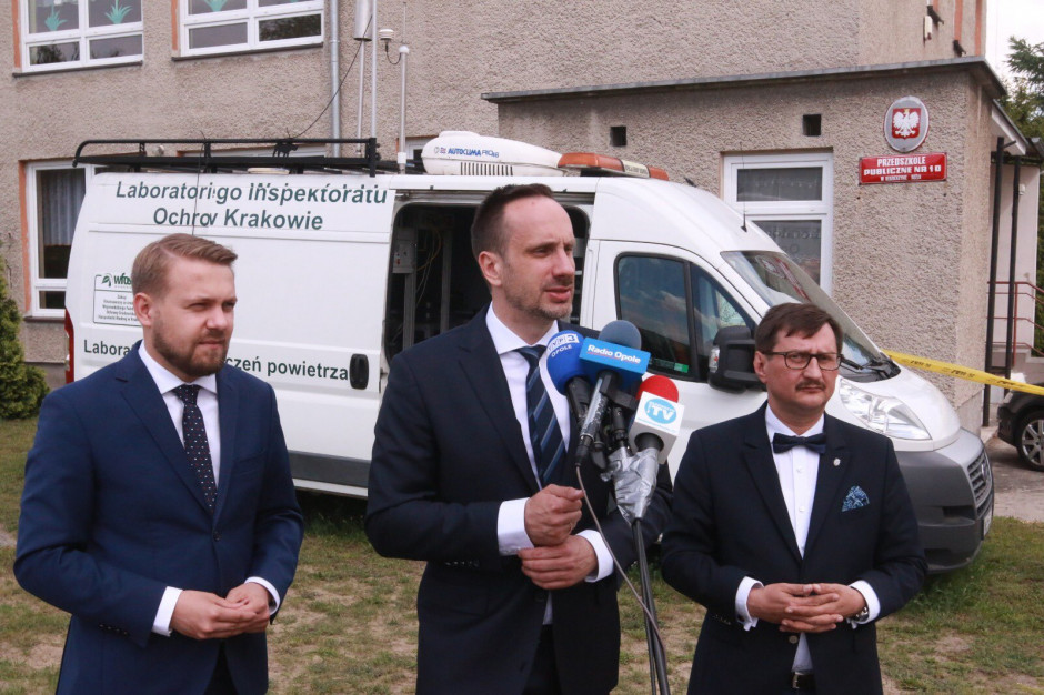 Kędzierzyn-Koźle: Mobilna stacja badawcza ustali źródła zanieczyszczenia powietrza