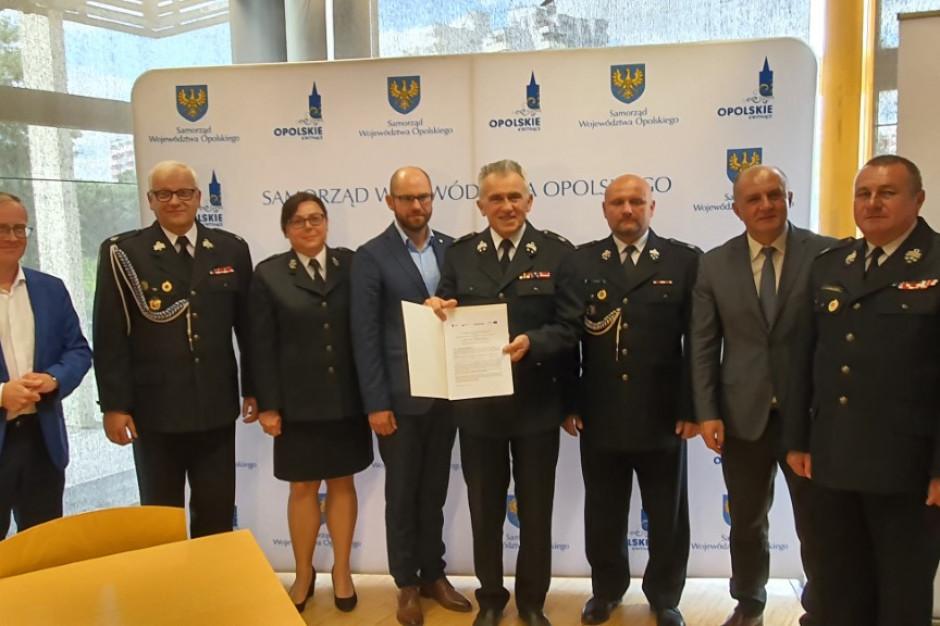 Opolskie: Samorząd województwa przekaże OSP sprzęt za 2,6 mln złotych