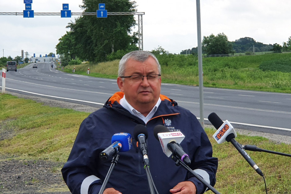 Adamczyk: Polskie budowy muszą napędzać polską gospodarkę