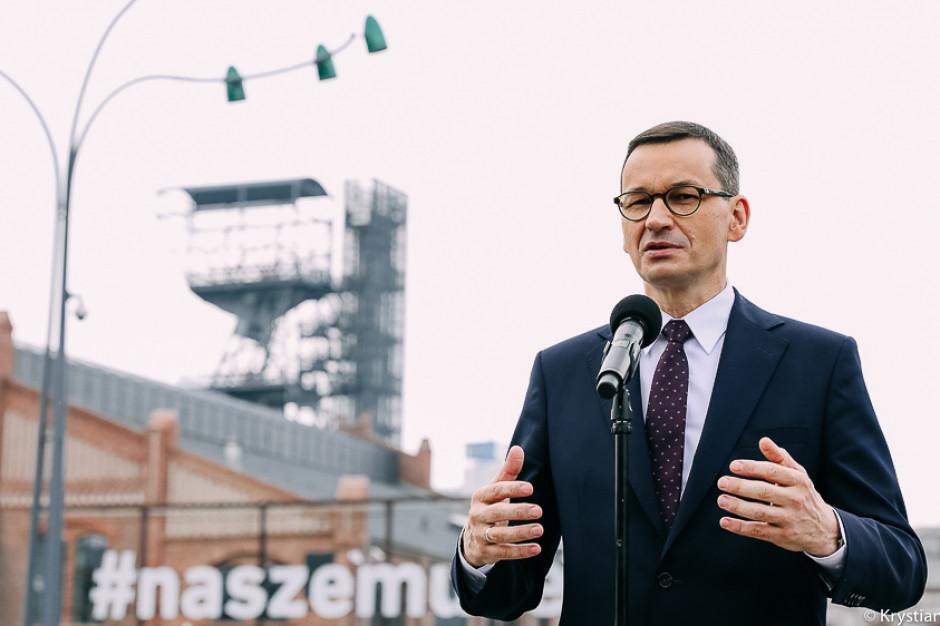 Premier: 22 mld zł z Programu dla Śląska już służy inwestycjom
