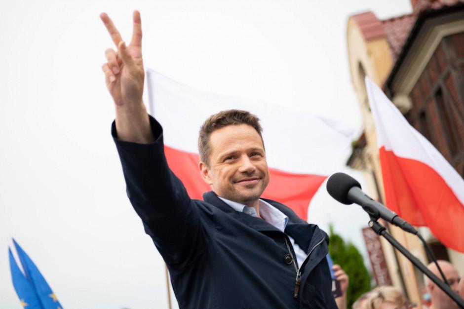 Ruszył proces w trybie wyborczym o słowa Rafała Trzaskowskiego