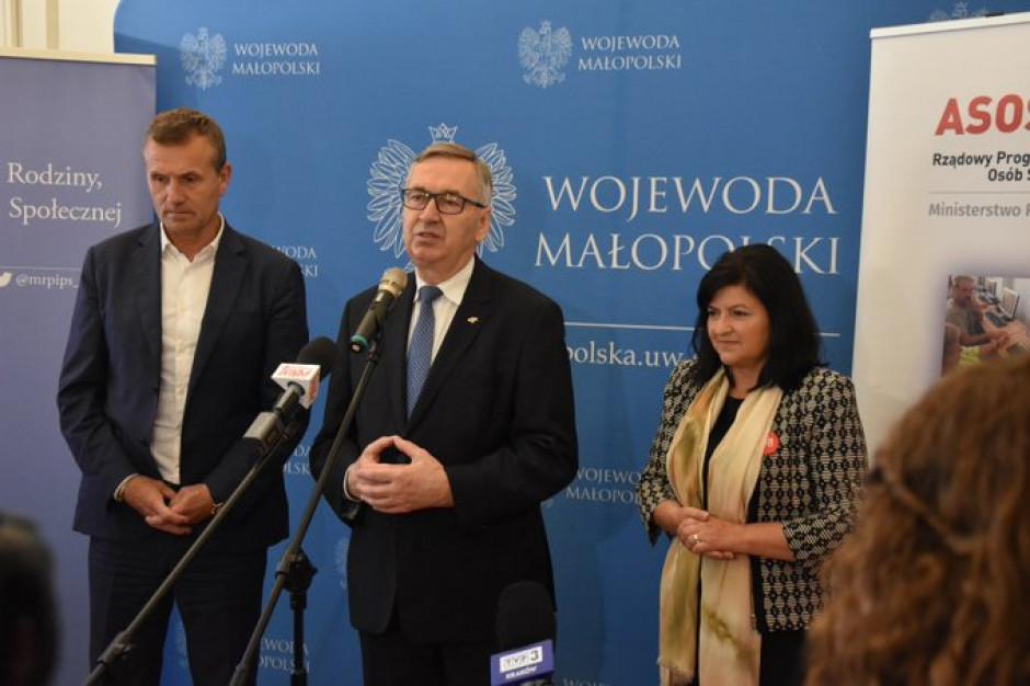 Małopolskie: Ponad 4 mln zł na wsparcie polityki senioralnej