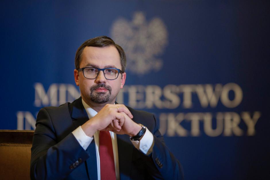 Horała: W ramach CPK powstanie nowa linia kolejowa między Trójmiastem i Warszawą