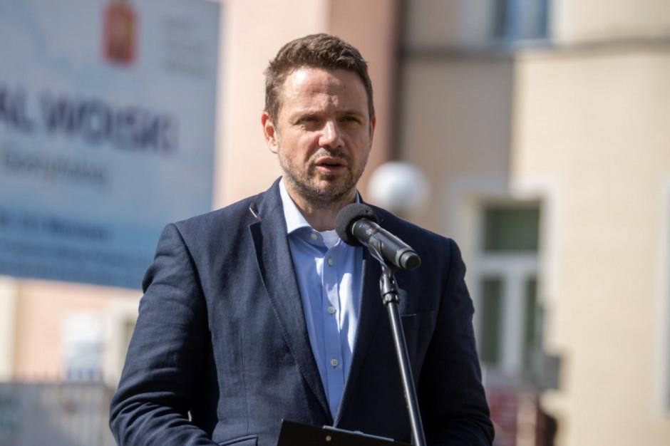 Trzaskowski o zrzuceniu ścieków: Sprawdzę wszystkie fakty