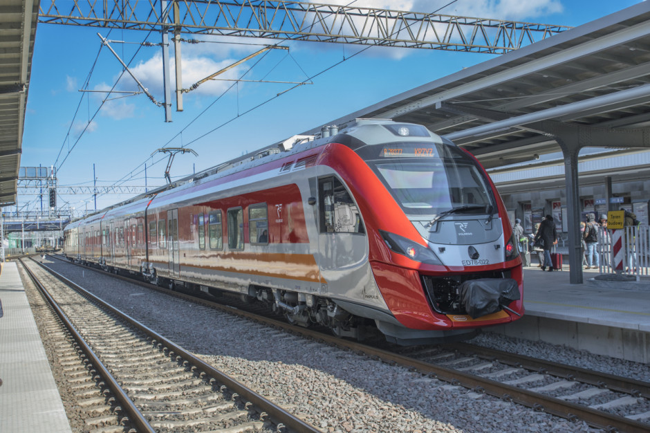 W pociągach Polregio coraz więcej pasażerów. Trwa przywracanie połączeń międzynarodowych