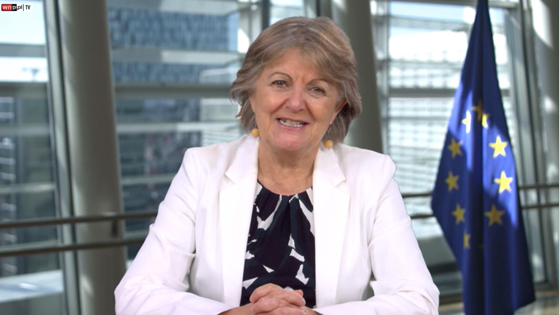 Elisa Ferreira, unijna komisarz ds. spójności i reform (fot. PTWP)