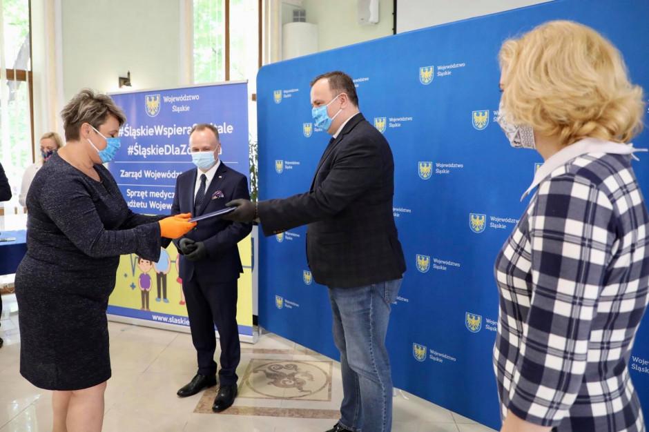 Śląskie: Szpitale dostały dotacje od samorządu