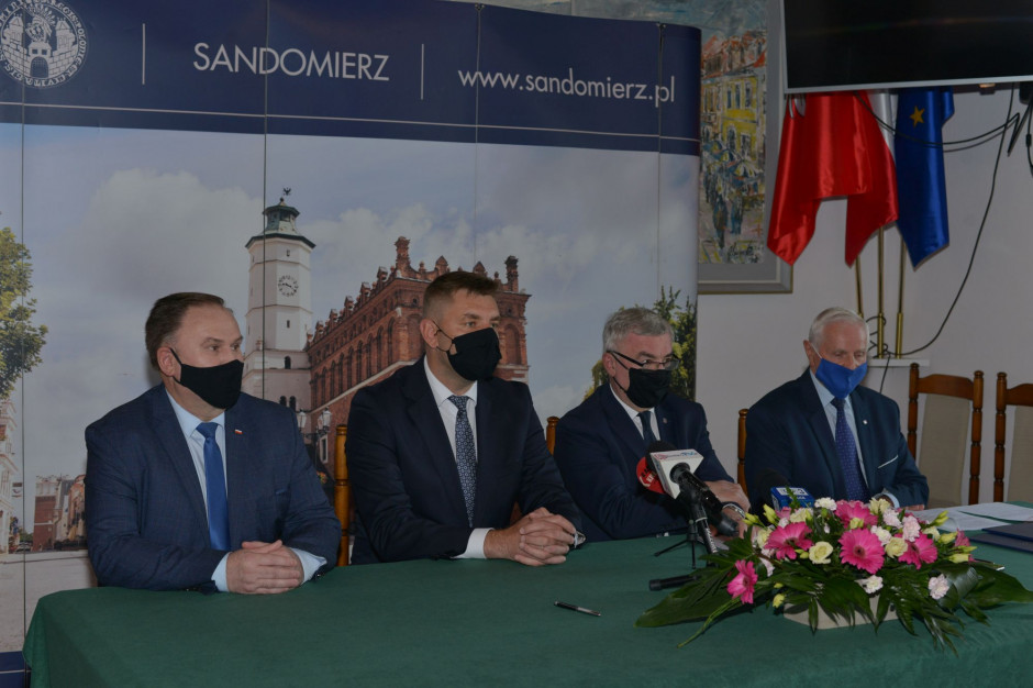 Sandomierz: 6,4 mln zł z UE na transport miejski w Sandomierzu