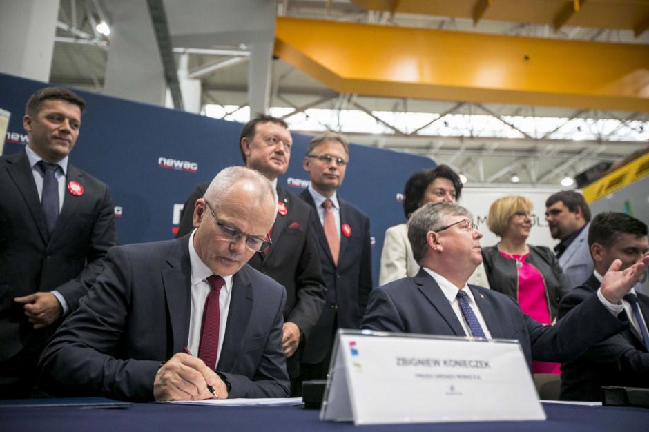 Siedem nowych pociągów dla województwa małopolskiego