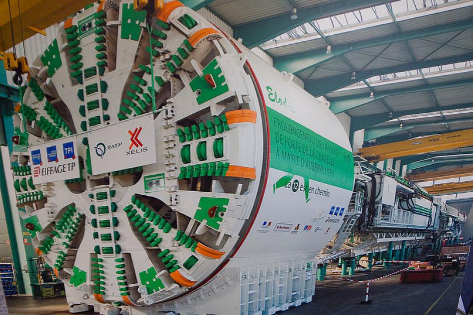 W Łodzi są już obie maszyny TBM do drążenia kolejowych tuneli