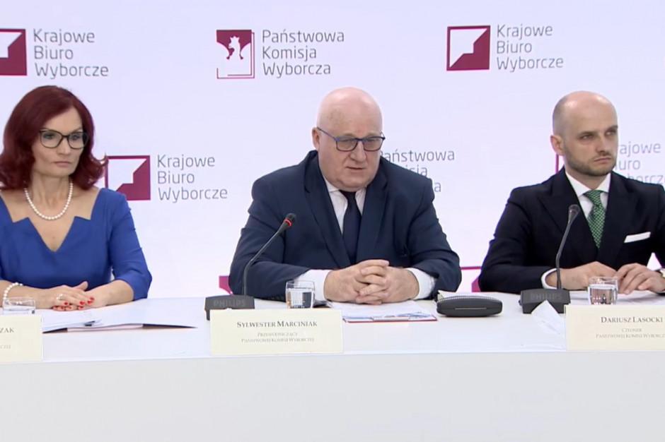 PKW: najwyższa frekwencja w Warszawie, Poznaniu i Zielonej Górze