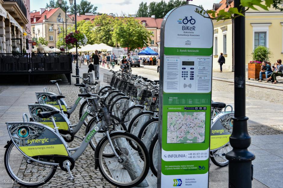 Białystok: Ruszył siódmy sezon miejskiego roweru BiKeR