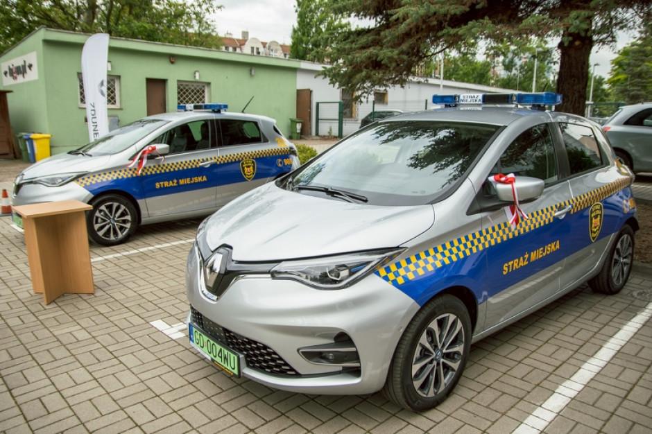 Gdańsk: Straż Miejska otrzymała dwa elektryczne radiowozy