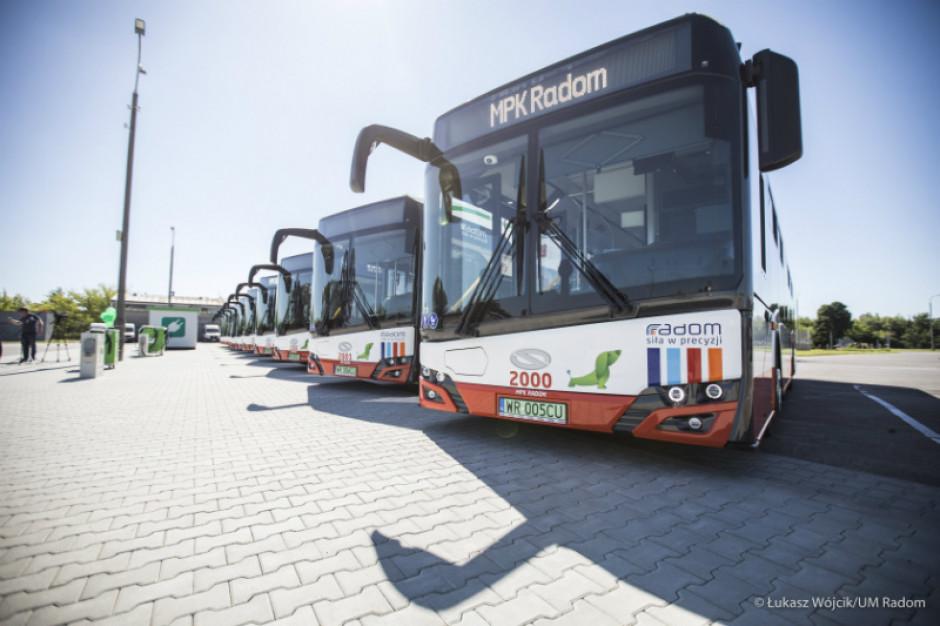 Dziesięć nowych elektrycznych autobusów na ulicach Radomia