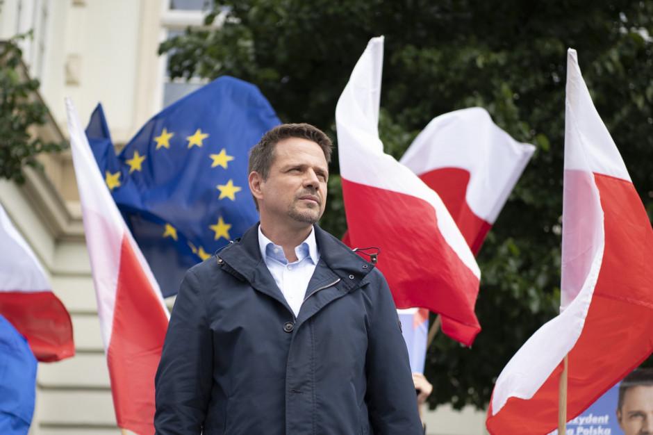 Trzaskowski obiecuje Hołowni radę samorządową i wniosek o kontrolę w państwowych spółkach