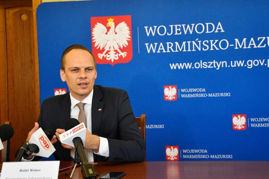 Wiceminister infrastruktury: 36 mld zł przez 10 lat na modernizację dróg samorządowych