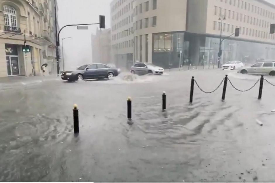 Warszawa: BBiZK: zwróciliśmy się o kontrolę ws. odprowadzania wód opadowych