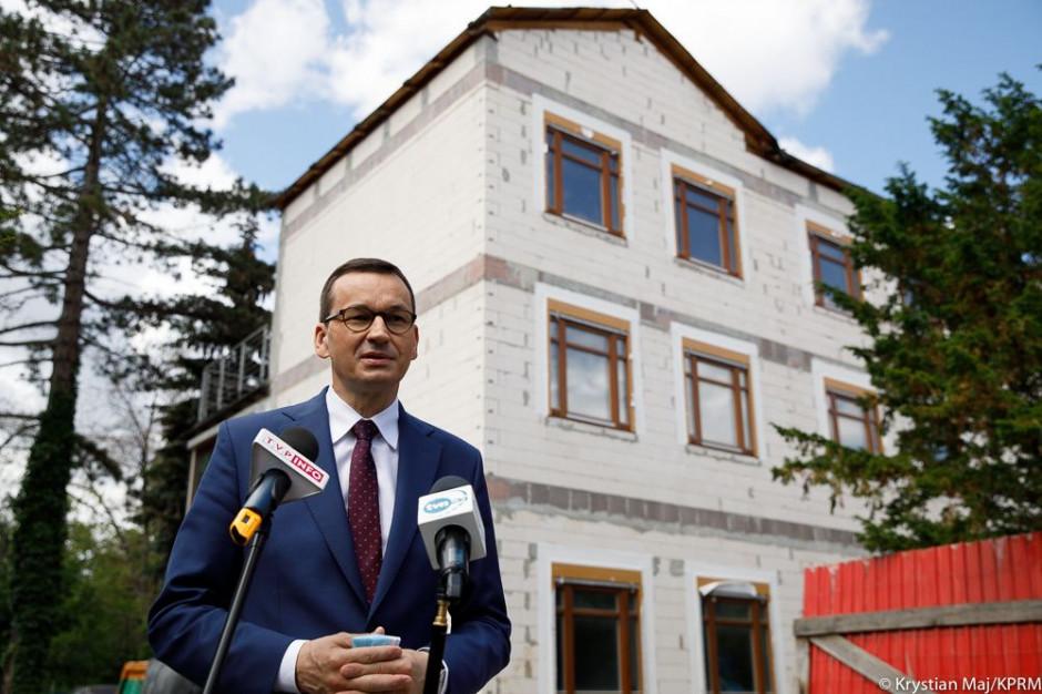 Mateusz Morawiecki: mamy program dla każdego powiatu i każdej gminy