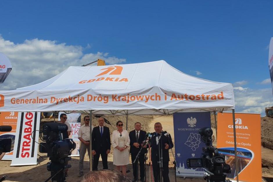 Rozpoczęto budowę północnej obwodnicy Kędzierzyna-Koźla