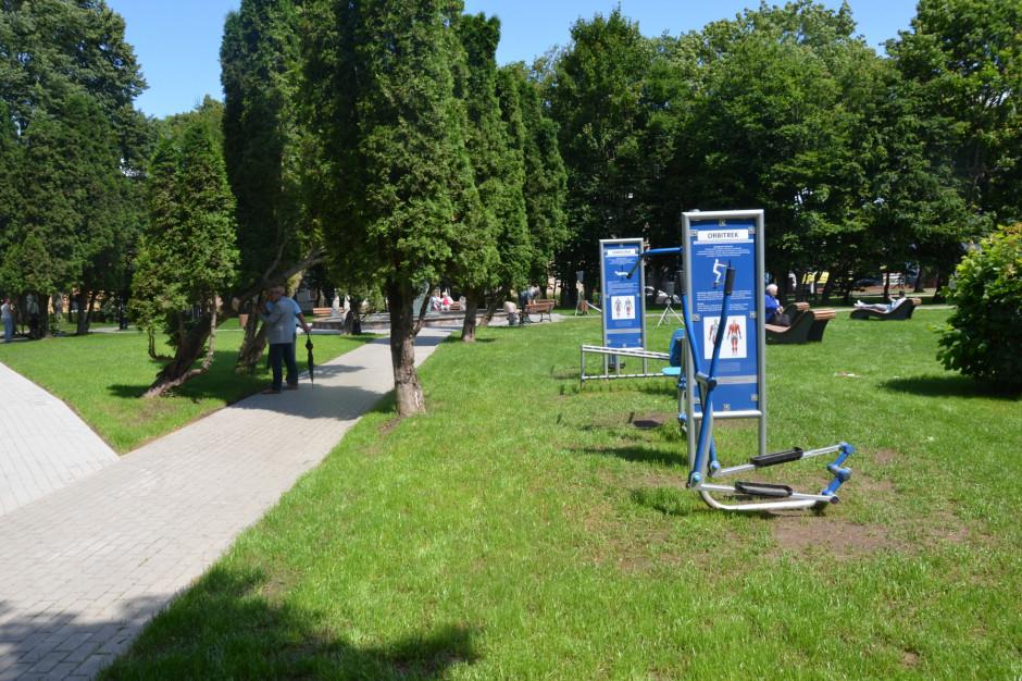 Zakończono modernizację parku w Kartuzach