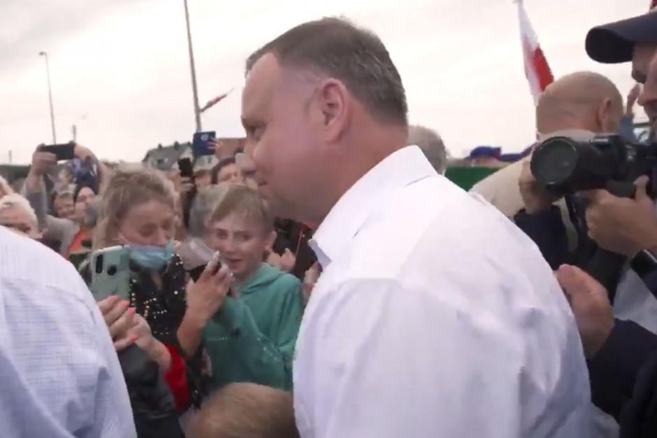Końskie: Prezydent Andrzej Duda spotkał się z mieszkańcami miasta