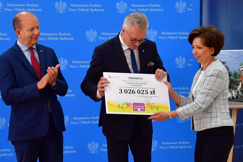 W Wołominie powstanie Powiatowe Centrum Opiekuńczo-Mieszkalne