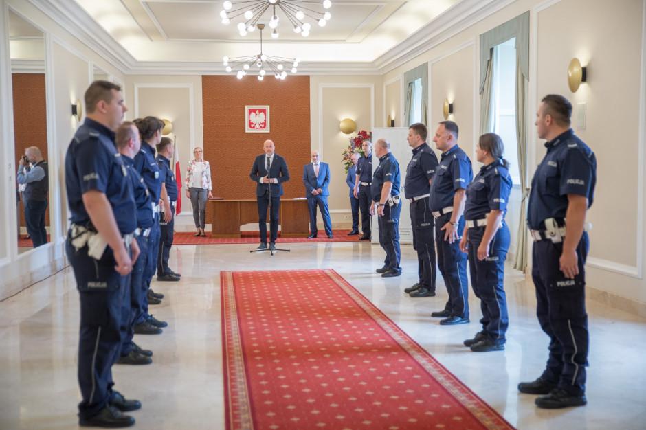 Nagrody dla policjantów w Warszawie. 41 proc. kontroli wykryło nieprawidłowości